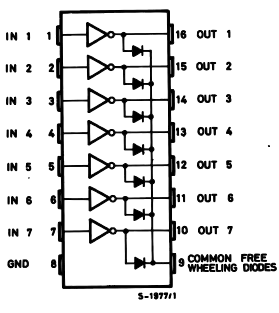 Darlington Transistor IC