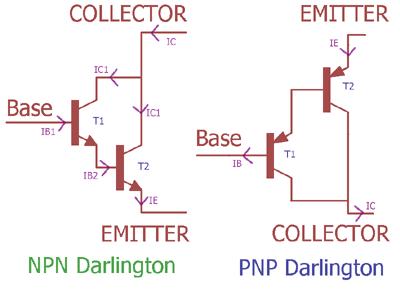 Darlington Transistör Çifti Akım Kazancı Hesaplaması