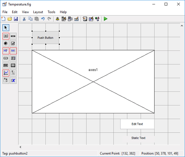 Designing GUI for Plot Graph using MATLAB