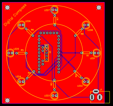 Fabricating the PCBs for the Digital Compass