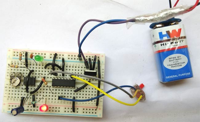 Frequency Divider Circuit in action