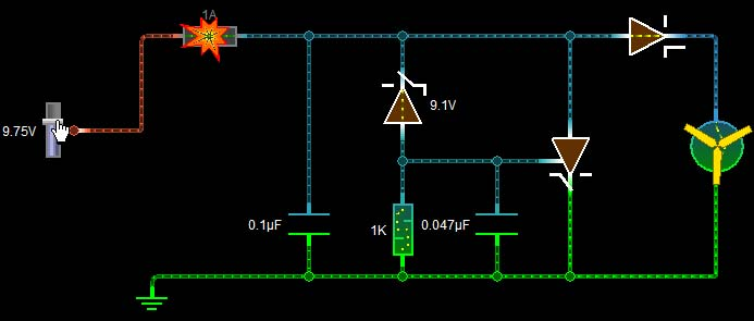 Fuse Blow due to Overvoltage in Crowbar Circuit