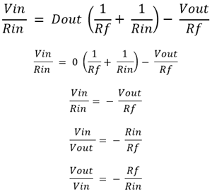 Gain formula Derivation
