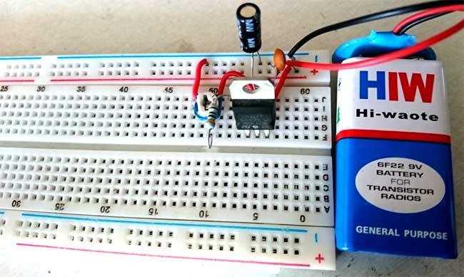 Lm317 Circuit Diagram | Lm317 Variable Voltage Regulator Circuit Diagram