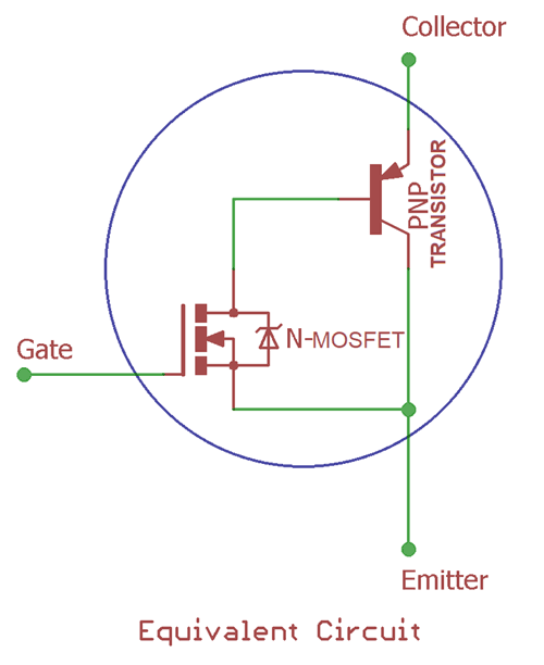 IGBT Transistor - Basics, Characteristics, Switching Circuit ... on diode schematic, integrated circuit schematic, rectifier schematic, power supply schematic, battery schematic, mosfet schematic, transistor schematic, capacitor schematic, sensor schematic, plc schematic, lcd schematic, relay schematic, cpu schematic, inductor schematic, led schematic, vfd schematic, switch schematic, smps schematic,