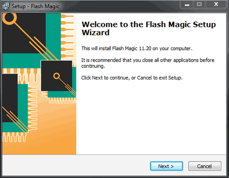 Install the Flash Magic