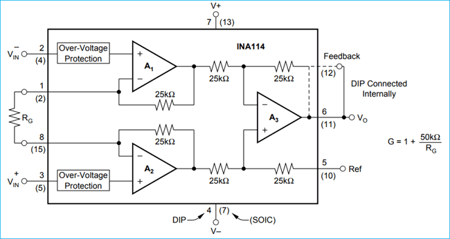 Stupendous Instrumentation Amplifier Circuit Diagram Using Op Amp Wiring Cloud Brecesaoduqqnet