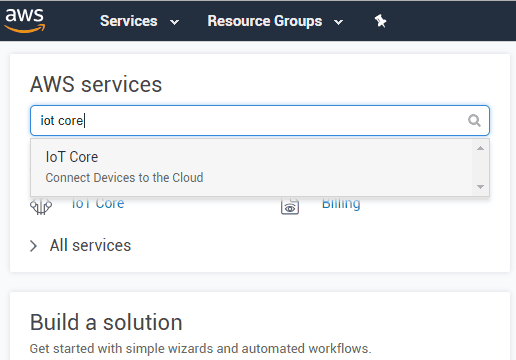 Getting Started with Amazon AWS for IoT Projects using MQTT