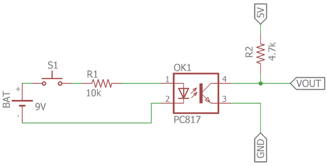What is Optocoupler: Its Types and Various Application in DC ... Optocoupler Schematic on