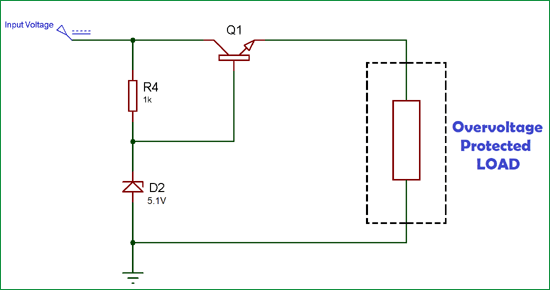 Overvoltage Protection Circuit on