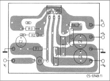 PCB Layout for Amplifier with Split Power Supply