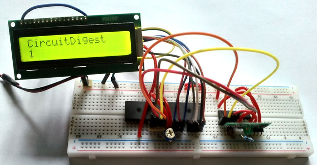 PIC to PIC Microcontroller Communication using RF Module