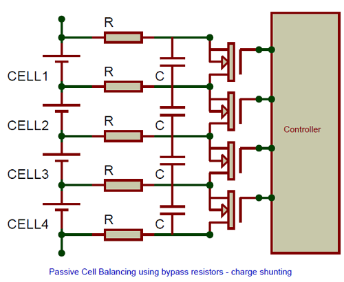 balanced battery wiring diagram what are cell balancing techniques and how to use them  what are cell balancing techniques and