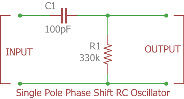 Practical Example of RC Oscillator Circuit