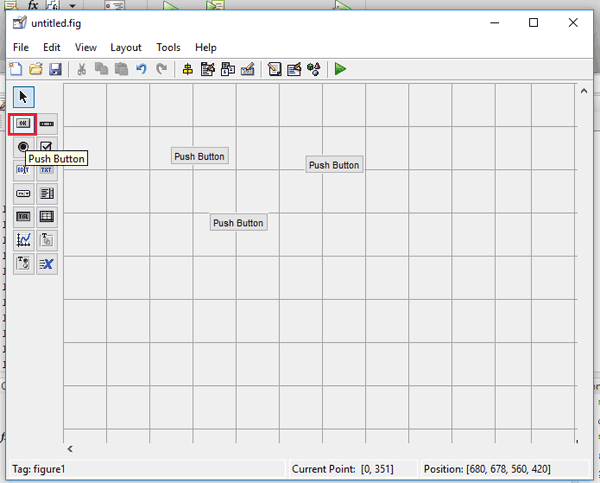 Pushbutton in MATLAB GUI