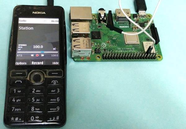 Projet d'émetteur radio FM Raspberry Pi