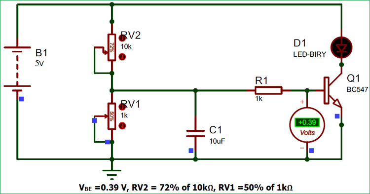 Thermistor Based Thermostat Circuit Diagram