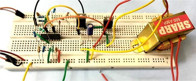 Solar Inverter Circuit Hardware