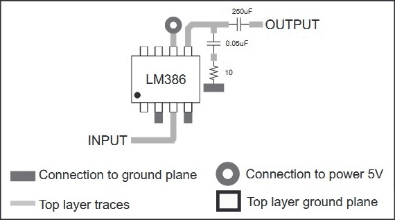 Stereo Circuit using LM386