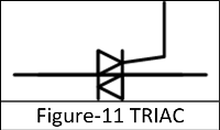 Symbol of TRIAC