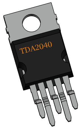 TDA2040 Power Amplifier IC