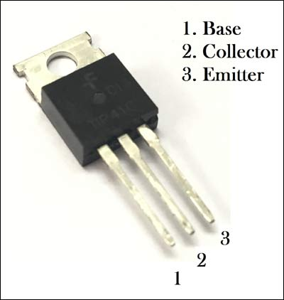 TIP41 High Power NPN transistor