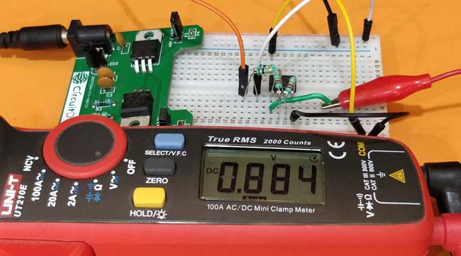 Testing Differential Amplifier Circuit