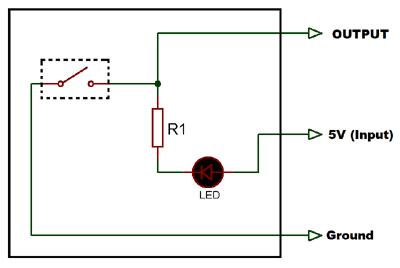 Tilt Sensor Schematic diagram