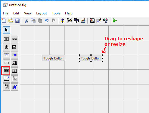 Toggle Button in MATLAB GUI