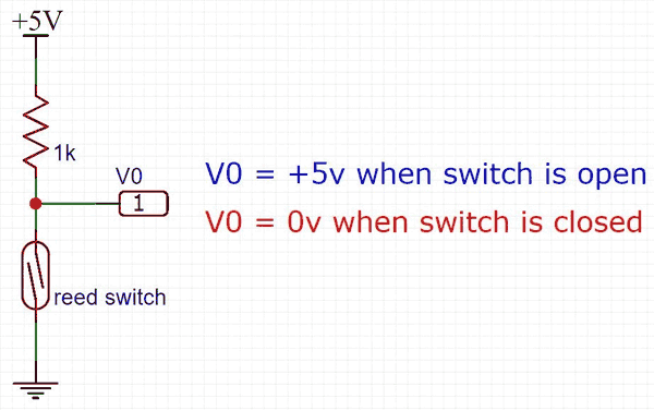 3 wire reed switch wiring diagram arduino reed switch interfacing tutorial  arduino reed switch interfacing tutorial