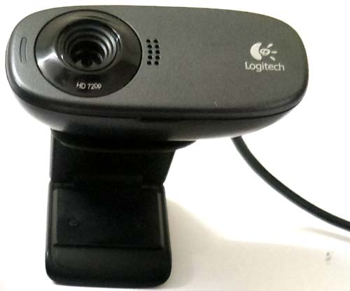 Webcam as USB microphone