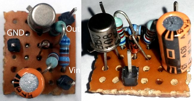 White Noise Generator Circuit in action