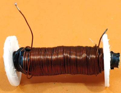 Winding the Coil for Coil Gun