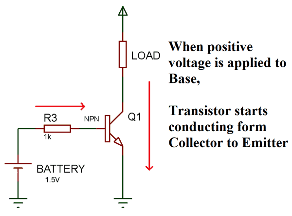 transistor wiring diagram transistor switching circuit examples of how transistor acts as a  transistor switching circuit examples
