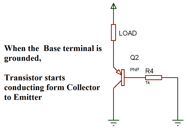 Admirable Transistor Switching Circuit Examples Of How Transistor Acts As A Wiring Cloud Oideiuggs Outletorg