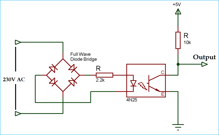Zero Crossing Detector Circuit Diagrams using Op-amp or