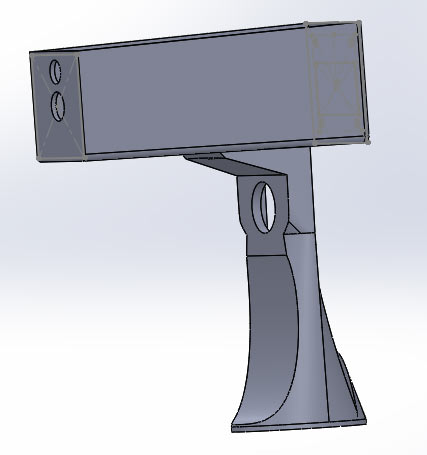 3D-Modelling Thermal Gun