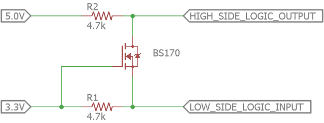 Bi Directional Logic Level Converter Using Mosfet