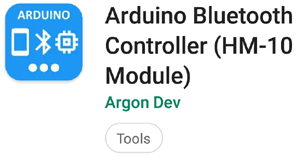 Arduino Bluetooth Controller (HM-10 Module) Android App