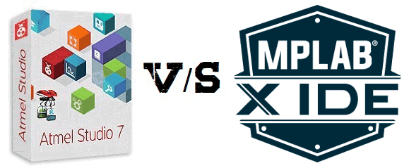 Ateml Studio vs MPLABX
