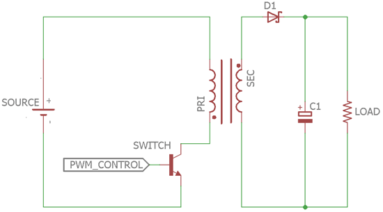 Flyback Converter Circuit Diagram