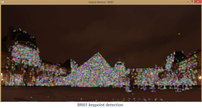 Brief keypoint Detection using OpenCV and Python