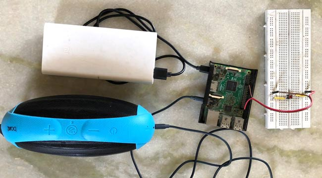 Raspberry Pi Bluetooth Speaker: Play Audio Wirelessly using