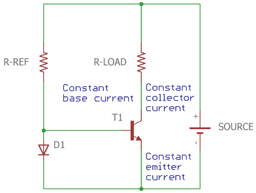 Current Mirror Circuit using BJT