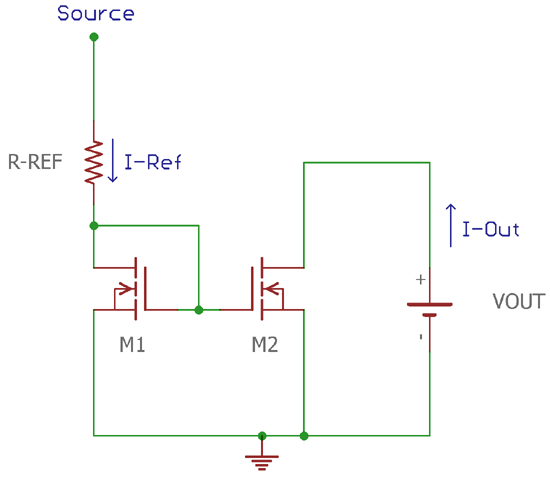 Current Mirror Circuit using MOSFET