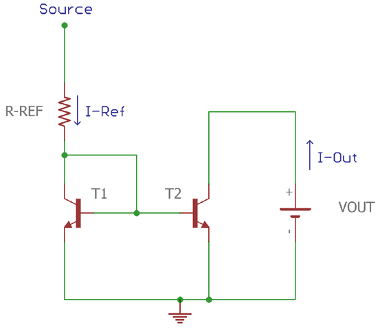 Current Mirror Circuit using Transistor