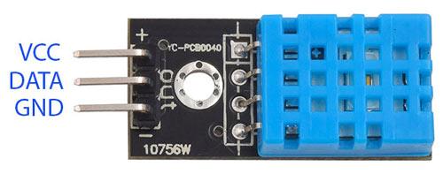 DHT11 Sensor Pinout