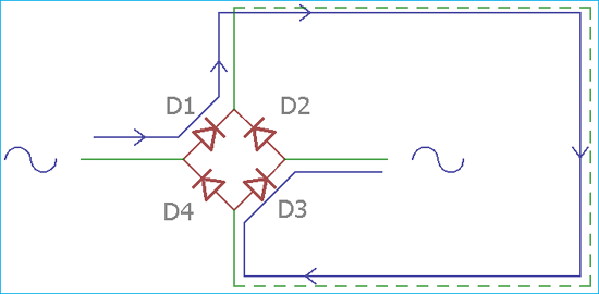 ac to dc converter circuit diagram  circuit digest