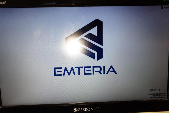 Emteria OS on Raspberry Pi Android