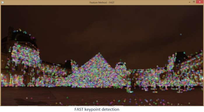 Fast keypoint Detection using OpenCV and Python